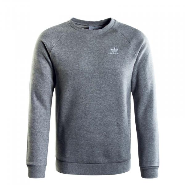 Herren Sweatshirt - Essential Crew - Grey