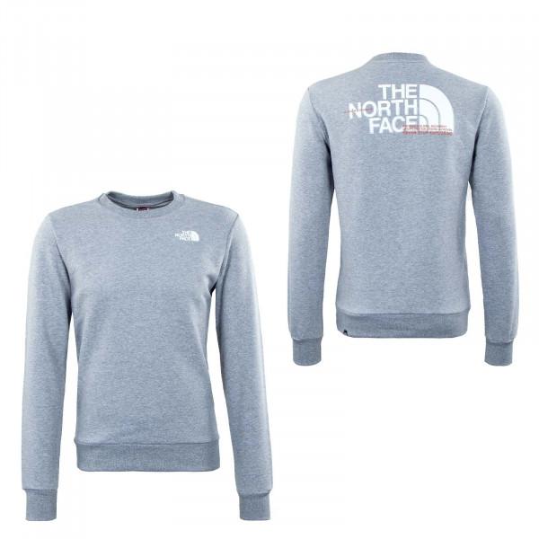 Herren Sweatshirt - Coord Crew - Light Grey
