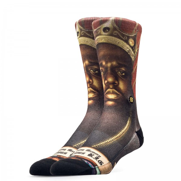 Stance Socks Anthem Praise B.I.G. Black