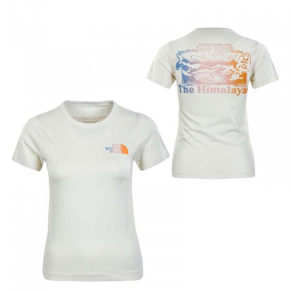 Damen T-Shirt -  Him Bottle Vintage - White