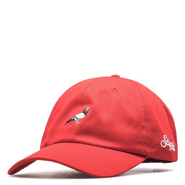 Staple Cap Pigeon Dad Red