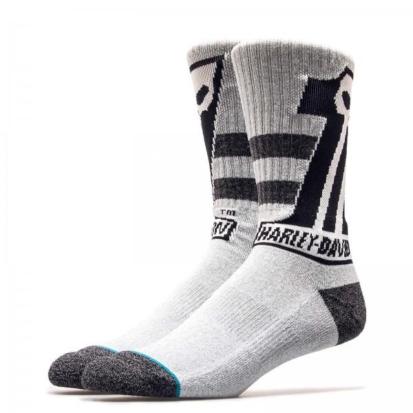 Stance Sock Harley Dark Custom Grey