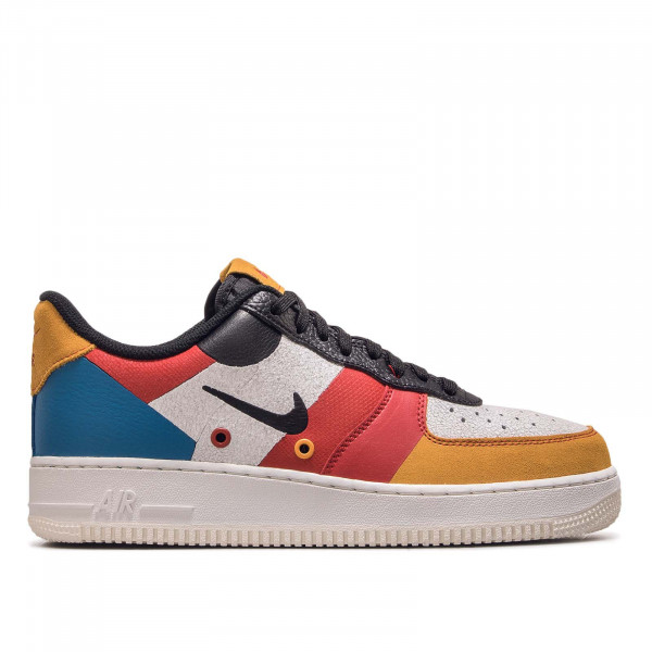 Unisex Sneaker Air Force 1 PRM Sail Black Red Yellow