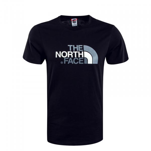Herren T-Shirt Easy Black