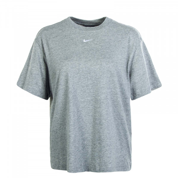 Damen T-Shirt NSW Essential SS BF Grey White