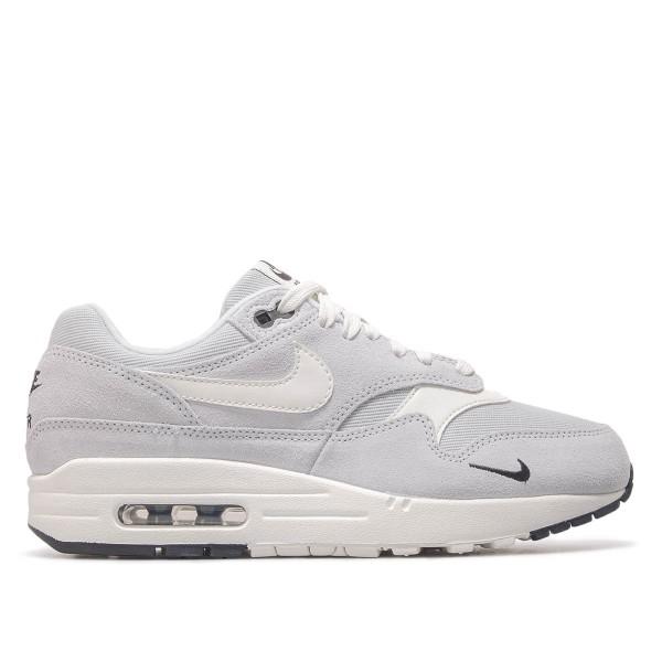 Nike Air Max 1 Premium Platinum Grey Wht