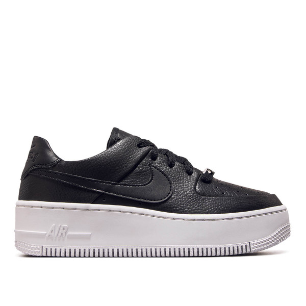 Nike Wmn AF1 Sage Low Black White