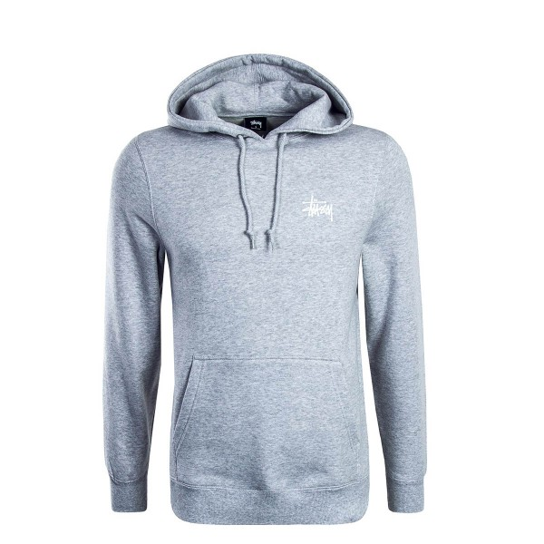 Stüssy Hoody Basic Grey