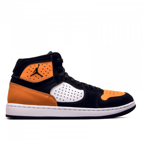 Herren Sneaker Access Black White Orange