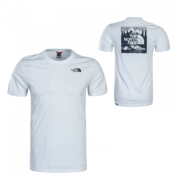 Herren T-Shirt - Redbox Celebration - White Navy