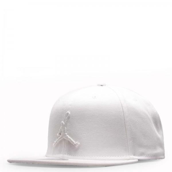 Nike Cap Jordan Jumpman White White
