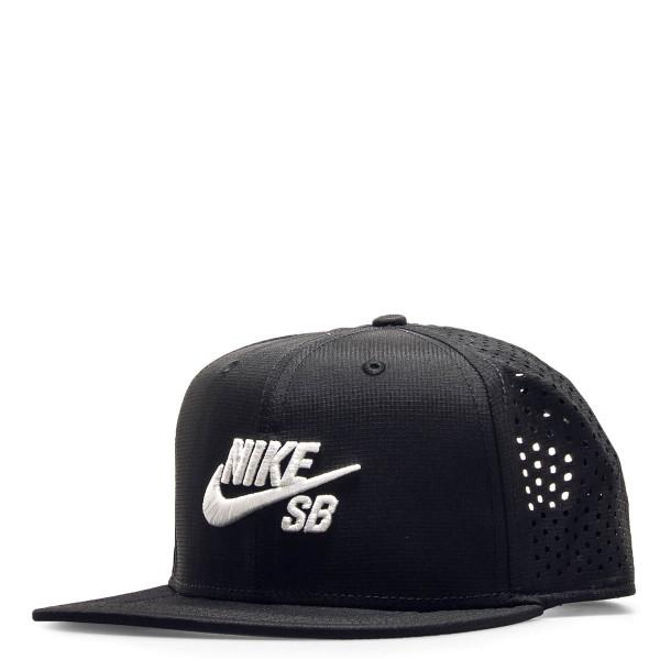 Nike SB Cap Trucker Black White