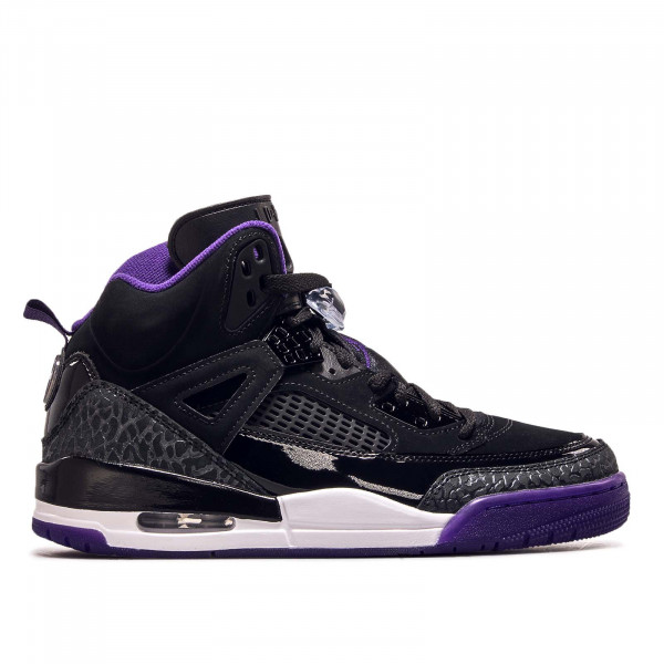 Herren Sneaker Spizike Black Purple White