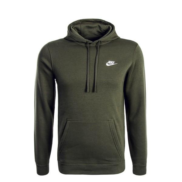 Nike Hoody NSW FLC Club Olive White