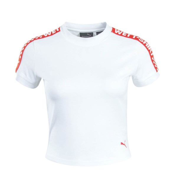 Fenty Wmn TS Cropped Bright White