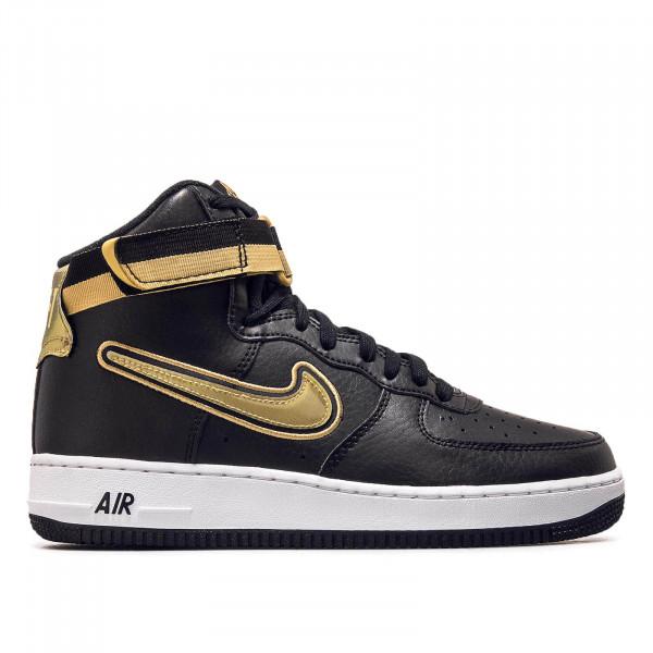 Nike Air Force 1 High 07 Black Gold