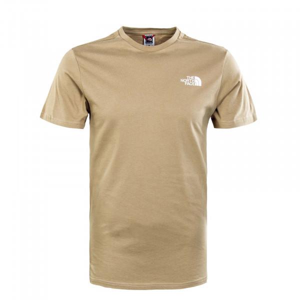 Herren T-Shirt - Simple Dome - Tan