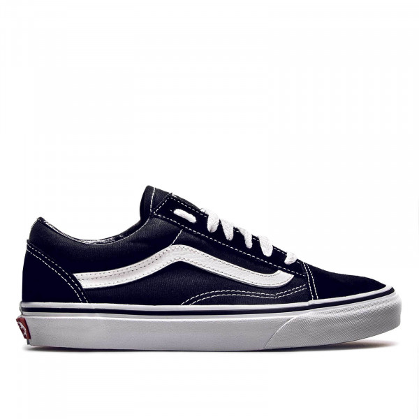 Vans U Old Skool Black White