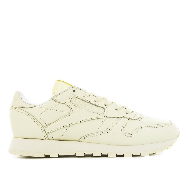 Reebok Wmn CL Lth Pastels Wash Yellow Wh