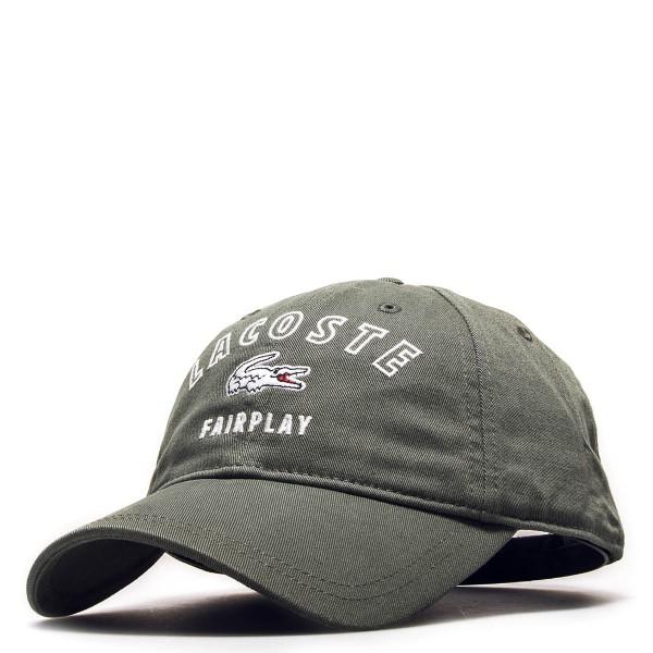 Lacoste Cap Fairplay Green