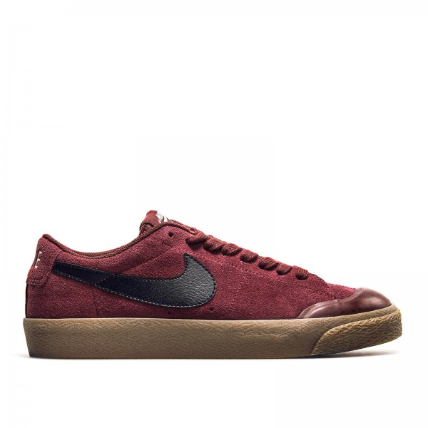 Nike SB Blazer Zoom Low Bordo Black