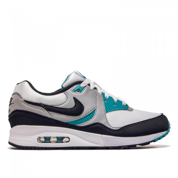 Herren Sneaker Air Max Light White Black Wolf Grey