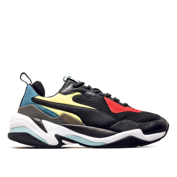 Puma Thunder Spectra Black White Yellow