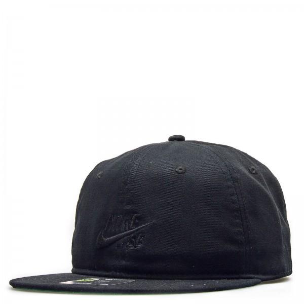 Nike Cap NK Pro Vintage Black Black