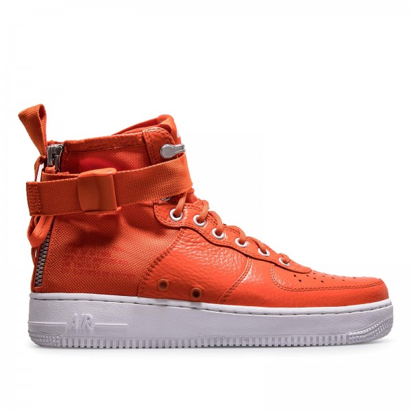 Nike SF AF1 Mid Team Orange