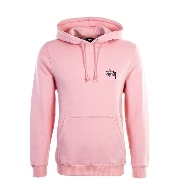 Stüssy Hoody Basic Dusty Rose