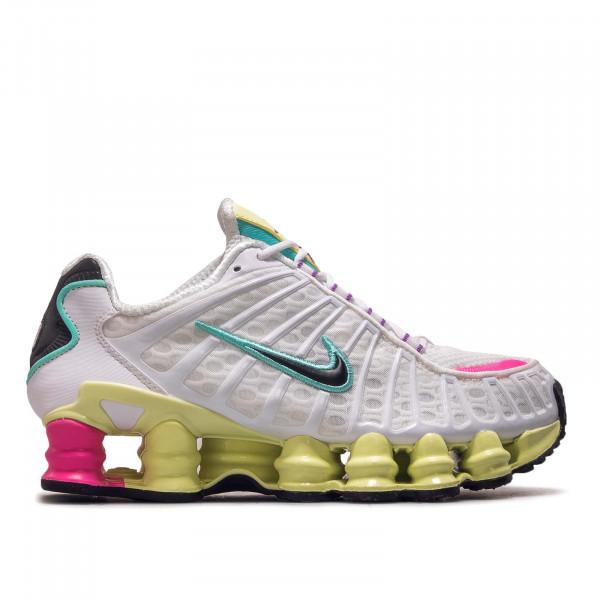 Damen Sneaker Shox TL White Lime