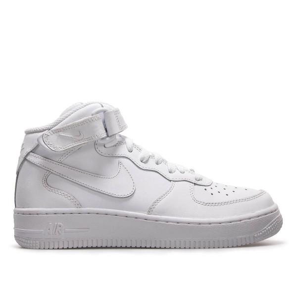 Nike U Air Force 1 Mid 07 White White