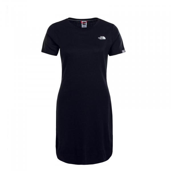 Damen Kleid Simple Dome Black