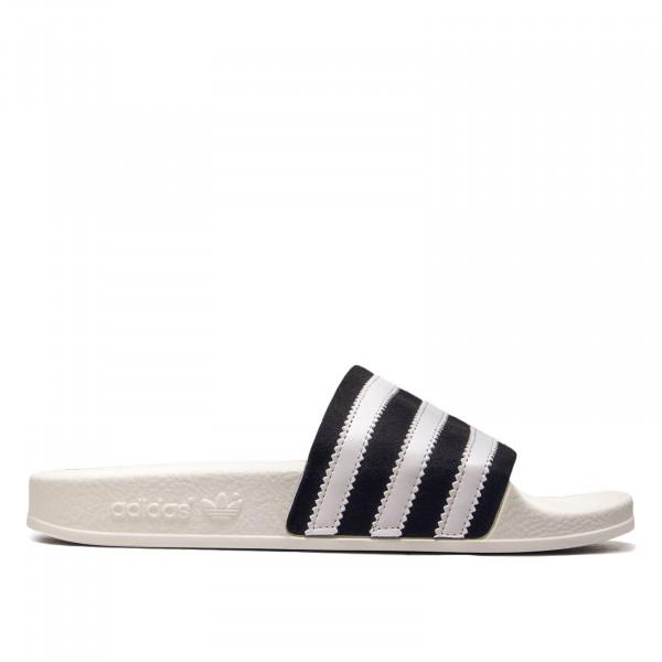Adidas Adilette White Black