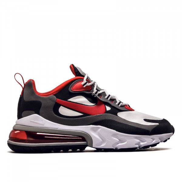 Herren Sneaker Air Max 270 React White Black Red