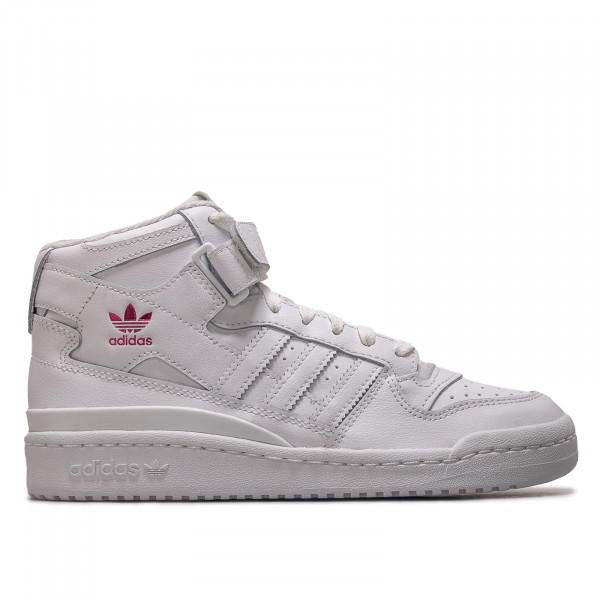 Damen Sneaker - Forum Mid - Cloud White / Shock Pink