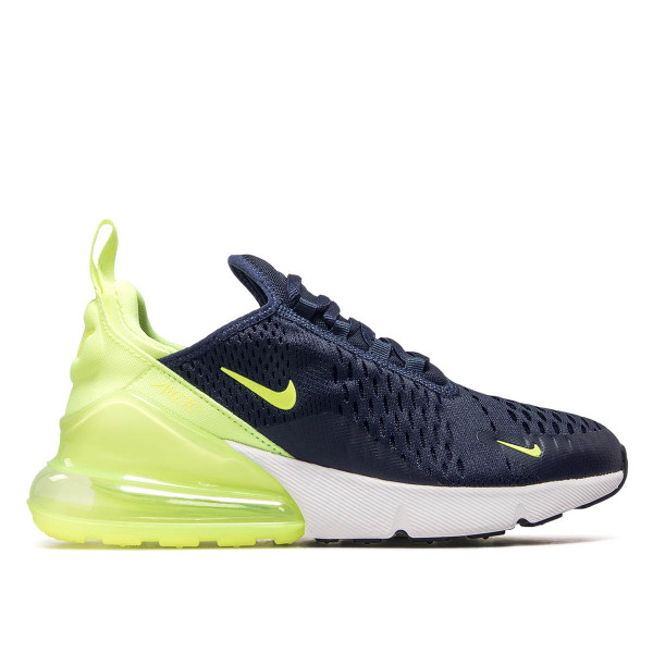 Nike Wmn Air Max 270 Navy Neo Yellow