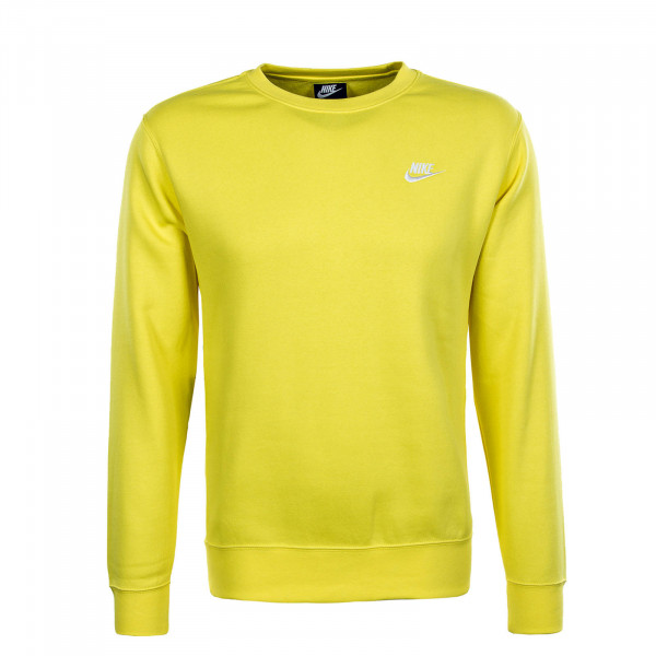 Herren Sweatshirt NSW Club Crew BV2662 Optiye White