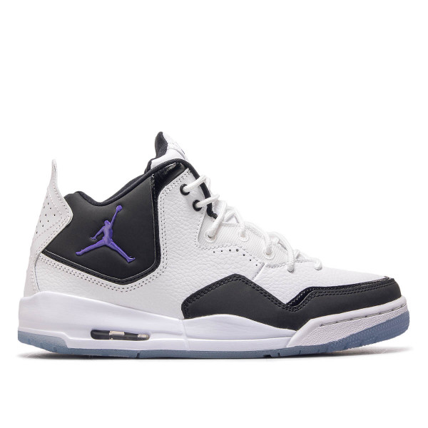 Jordan Courtside 23 White Black Purple