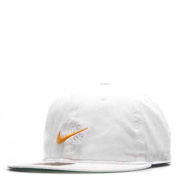 Nike Cap NK Pro Vintage White Orange