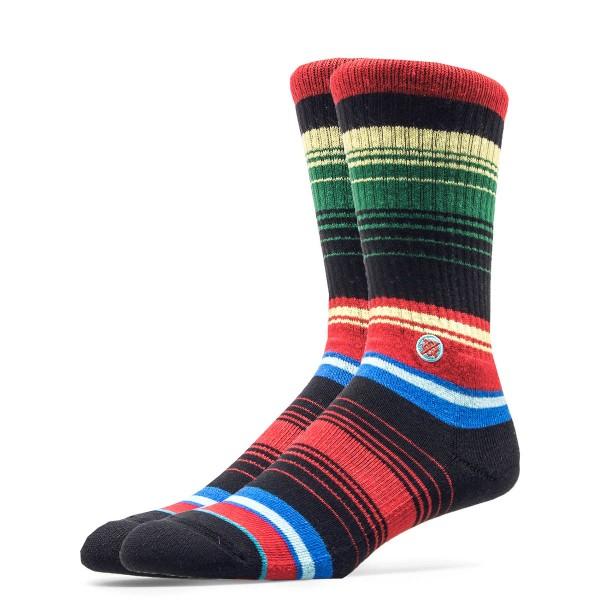 Stance Socks Poniente Red Black