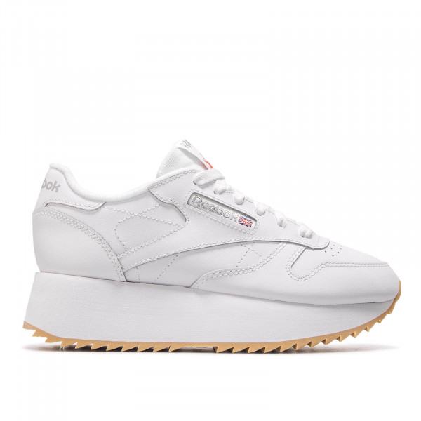 Reebok Wmn CL LTHR Double White