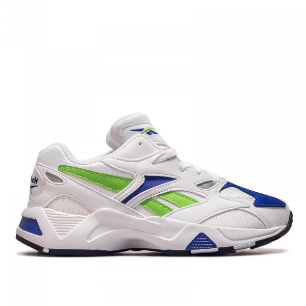 Damen Sneaker Aztrek 96 White Cobalt Green