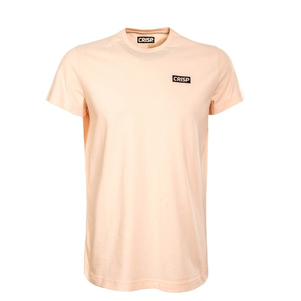 Crisp TS Small Print Peach Black
