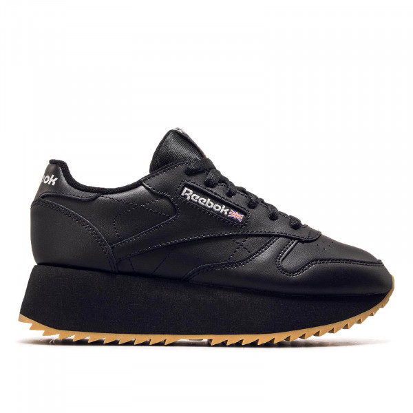 Reebok Wmn CL LTHR Double Black