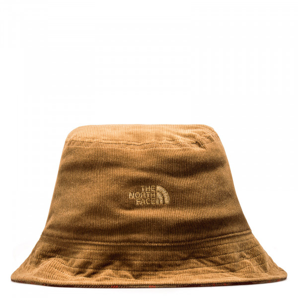 Bucket  Hat Reversible Utility Brown