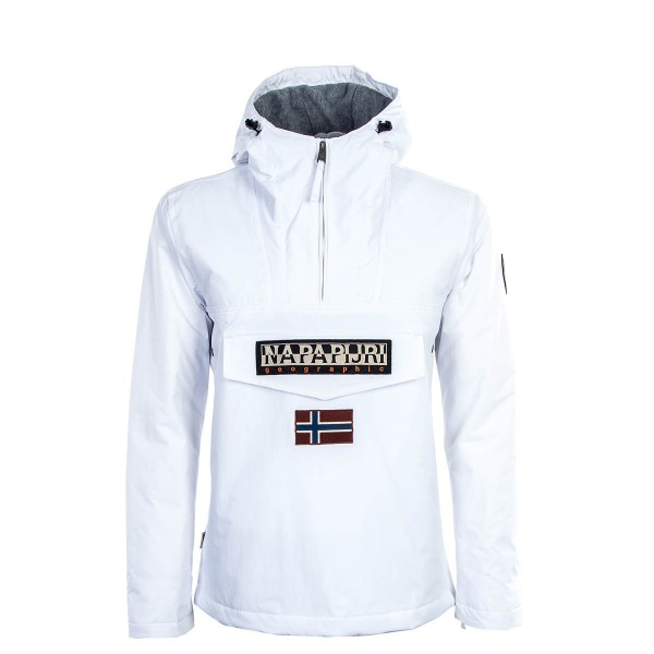Herren Windrunner Rainforest White