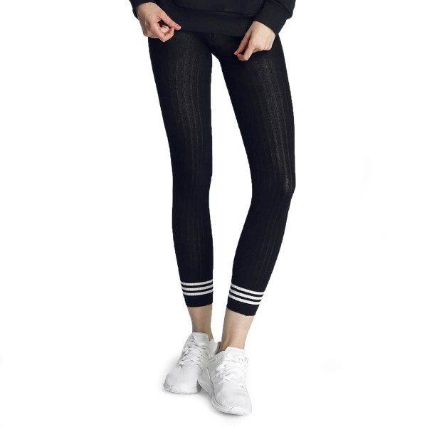 Adidas Wmn Leggings Tight 3 Stripes Blk