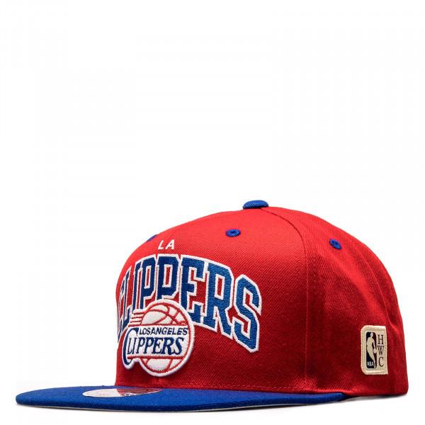 Snapback-Cap - HWC Team Arch LA Clippers - Red / Blue