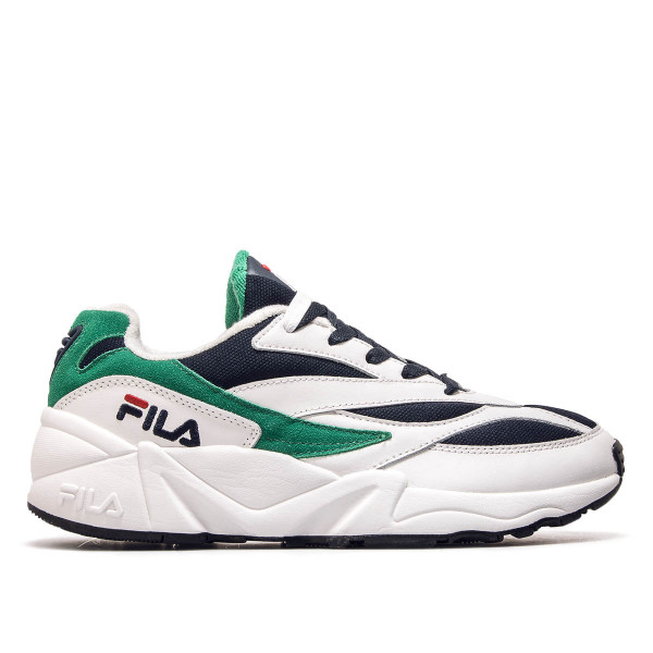Fila Venom Low White Navy Green
